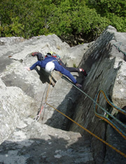 Private Rock Climbing
